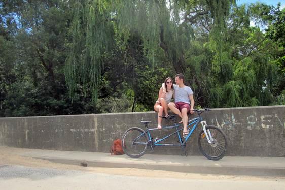 Romance via Tandem Cycling