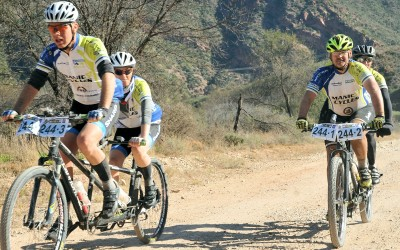 ManiC Cycles entered 2 tandems for the 225km Trans Baviaan MTB race
